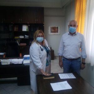Μαμάτσειο Νοσοκομείο Κοζάνης: Ορκωμοσία μόνιμου ιατρού με ειδικότητα στην Καρδιολογία