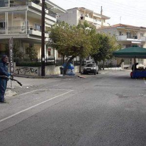 Συνεχίζει τις απολυμάνσεις ο Δήμος Κοζάνης (φωτογραφίες)