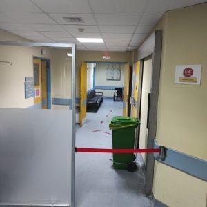 """Mαμάτσειο νοσοκομείο Κοζάνης: """"Η μπλε ζώνη είναι για τη διαχείριση των μη Covid-19 περιστατικών η δε κόκκινη για την διαχείριση των Covid περιστατικών"""""""