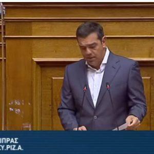 "kozan.gr: Αλέξης Τσίπρας κατά Ν. Χαρδαλιά στη Βουλή: ""Ο ανεκδιήγητος έδειξε με το δάχτυλο τέσσερεις επιχειρήσεις εστίασης ως υπεύθυνες για το Lockdown στην Κοζάνη χωρίς στοιχεία και αίσθηση ευθύνης με απόλυτο κυνισμό"""