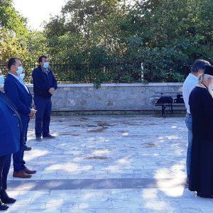 Τρισάγιο στην μνήμη των εκτελεσθέντων του Μεσόβουνου την 23η Οκτώβρη 1941, τελέστηκε σήμερα το μεσημέρι στο Μνημείο των Πεσόντων