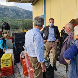 Επίσκεψη του βουλευτή Π.Ε. Κοζάνης Στάθη Κωνσταντινίδη στον Αγροτικό Συνεταιρισμό ελαιοπαραγωγών Ιμέρων