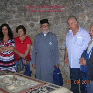 Γιορτάσαμε, 3 Νοεμβρίου, την ανακομιδή των λειψάνων  του Αγίου Μεγαλομάρτυρος Γεωργίου του Τροπαιοφόρου (του παπαδάσκαλου Κωνσταντίνου Ι. Κώστα)