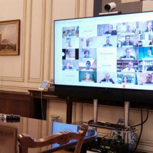 Παρασκευή Βρυζίδου: Εισήγηση στη συνεδρίαση της Κοινοβουλευτικής Ομάδας της Νέας Δημοκρατίας παρουσία του Πρωθυπουργού Κυριάκου Μητσοτάκη