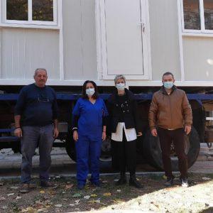 kozan.gr: Δωρεά ενός κοντέινερ από τον επιχειρηματία Λάζαρο Τσαβδαρίδη, για τις ανάγκες δειγματοληψίας tests covid στο Κέντρο Υγείας Κοζάνης (Φωτογραφίες)