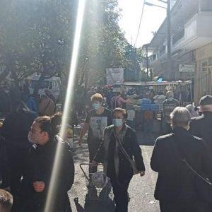 kozan.gr: Σημερινές (7/11) εικόνες από τη λαϊκή αγορά της Κοζάνης (Βίντεο & Φωτογραφίες)