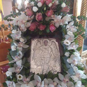 Στη σύναξη αυτή (8 Νοεμ.) ζητάμε πιο έντονα ''Άγγελον ειρήνης…''. – Πανηγυρίζει ο Βαθύλακκος της Ιεράς Μητροπόλεως Σερβίων και Κοζάνης  (του παπαδάσκαλου Κωνσταντίνου Ι. Κώστα)