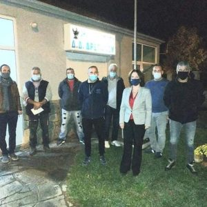 Η Κοινότητα Δρεπάνου συναντήθηκε με τους βουλευτές Κ. Βέττα & Σ. Κωνσταντινίδη