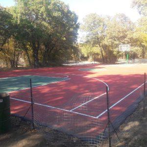 kozan.gr: Σημερινές φωτογραφίες από το δάσος Κουρί και τα γήπεδα τένις & μπάσκετ και τις εργασίες που συνεχίζονται