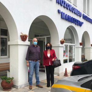 Κοινοβουλευτική ερώτηση της Καλλιόπης Βέττα για τη κλειστή Μ.Ε.Θ. στο Μαμάτσειο Νοσοκομείο Κοζάνης