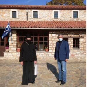 Επικάλυψη στέγης Ι. Ν. Αγίου Ιωάννου του Προδρόμου Λευκοπηγής με βυζαντινά κεραμίδια