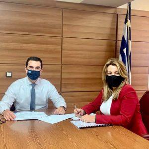 Για το θέμα των εκτροφείων μινκ στη Δυτική Μακεδονία συζήτησε η Μ. Αντωνίου με τους Μ. Βορίδη και Κ. Σκρέκα