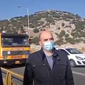 kozan.gr: Προσωπικό από την Εγνατία Οδός με τη χρήση ειδικού καλαθοφόρου οχήματος επιθεωρεί, σήμερα Πέμπτη 26/11, τα τμήματα κάτω από την Υψηλή Γέφυρα των Σερβίων, ώστε να διαπιστωθεί αν υπάρχουν τα οποιαδήποτε είδους προβλήματα  (Βίντεο)