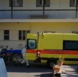 Φλώρινα: Κι άλλος ηλικιωμένος μεταφέρθηκε στο νοσοκομείο από το γηροκομείο