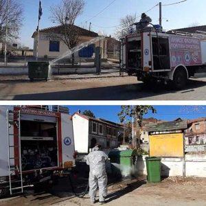 Συνέχεια προγραμματισμένων περιοδικών απολυμάνσεων σε κοινότητες του Δήμου Φλώρινας