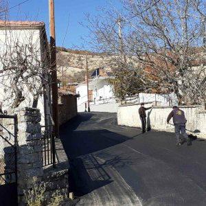 Ολοκληρώθηκε η ασφαλτόστρωση δημοτικών οδών στο  Δήμο Βοΐου (Φωτογραφίες)