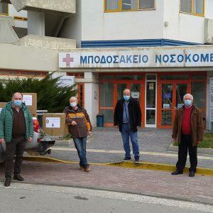 Ροταριανός Όμιλος Κοζάνης «Ο ΛΑΣΣΑΝΗΣ»: Δωρεά υγειονομικού υλικού στο Μποδοσάκειο Νοσοκομείο Πτολεμαΐδας