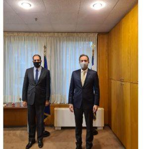 Συναντήσεις συνεργασίας στο Υπουργείο Μεταφορών και Υποδομών του βουλευτή ΠΕ Κοζάνης Στάθη Κωνσταντινίδη – Η εξεύρεση δίκαιης λύσης για τους κατοίκους του Βοΐου σχετικά με τα νέα διόδια