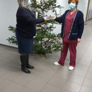Ενίσχυση της πρωτοβουλίας των κοινωνικών λειτουργών του Μποδοσάκειου Νοσοκομείου από το WinCancer και το παράρτημα Ν. Κοζάνης της Ελληνικής Αντικαρκινικής Εταιρείας