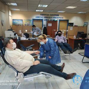 Ολοκληρώθηκε η πρώτη εθελοντική αιμοδοσία από το Γραφείο Εθελοντισμού Δήμου Φλώρινας