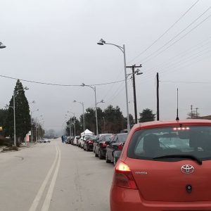 kozan.gr: Πτολεμαΐδα: Φωτογραφίες, με τη διαδικασία Drive-Through, από τη διεξαγωγή δωρεάν ελέγχου ταχείας ανίχνευσης κορωνοϊού (rapid covid-19 test)