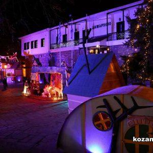 """Μία φανταστική """"Μαγική Λιμνοπολιτεία"""" στολίζει το Δημαρχείο Καστοριάς!"""