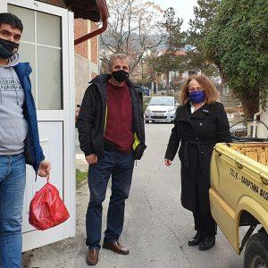 Δωρεά κρέατος από τη Σχολή Γεωπονικών Επιστημών του Πανεπιστημίου Δυτικής Μακεδονίας στο Γηροκομείο Φλώρινας