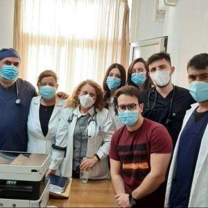 Καλά Χριστούγεννα, με υγεία και αγάπη από την Covid-19 κλινική του Μαμάτσειου Νοσοκομείου Κοζάνης (Φωτογραφία)