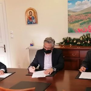 Δήμος Βοΐου: Υπογραφή Σύμβασης Ασφαλτόστρωσης Αγροτικών Δρόμων στο Τσοτύλι