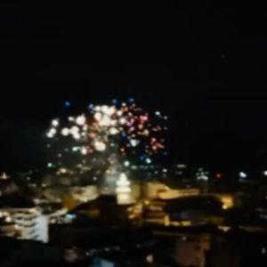 """kozan.gr: Δύο βίντεο με πανοραμική θέα και των τριών σημείων της Κοζάνης  από τα οποία τα πυροτεχνήματα """"φώτισαν"""" τον ουρανό της πόλης (Βίντεο)"""