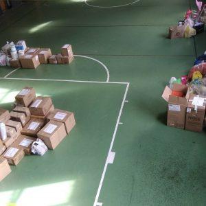 Παραδόθηκαν τα είδη πρώτης ανάγκης που συγκεντρώθηκαν από τη  δράση συνεισφοράς της νεολαίας του Δήμου Κοζάνης