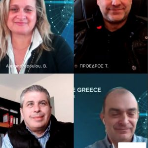 """Συνέχεια επαφών με το Enterprise Greece για την προώθηση των εξαγωγών γούνας από τον Σύνδεσμο Γουνοποιών Καστοριάς """"ο Προφήτης Ηλίας"""""""