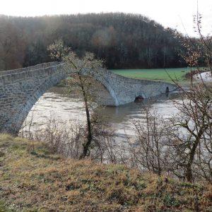 "kozan.gr: Η χθεσινή ολονύκτια βροχή ανέβασε τη στάθμη του νερού του ποταμού ""Πραμόριτσα"" – Φωτογραφία από το γιοφύρι Ανθοχωρίου & βίντεο"