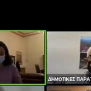 "kozan.gr: Α. Δερμιτζάκης σε  Ν. Τουμπουλίδου: ""Θέλω μια απάντηση σταράτη. ""Ανδρική"". Διότι αποτείνομαι σε άντρες αλλά και σε ""άντρες"" γυναίκες!"" – Εντονότατη η ενόχληση της Προέδρου του Δ.Σ. Κοζάνης"