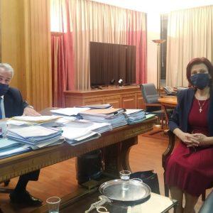 Π. Βρυζίδου: Επιστολή στον Υπουργό Εσωτερικών κ. Μ. Βορίδη για την προσαύξηση μοριοδότησης προσλήψεων ΑΣΕΠ μονίμων κατοίκων ΠΕ Κοζάνης