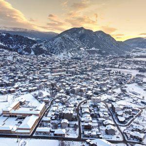 kozan.gr: Η μαγευτική φωτογραφία από τα χιονισμένα Σέρβια, όπως την αποτύπωσε ο φωτογραφικός φακός του Ιωάννη Παπαϊωάννου
