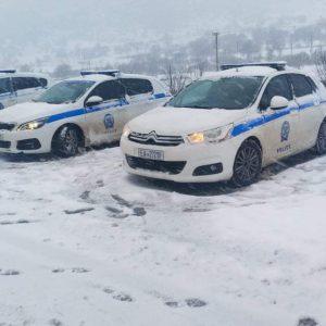 Ώρα 19:00: Η κατάσταση στο οδικό δίκτυο της Περιφέρειας Δυτικής Μακεδονίας ανά Διεύθυνση Αστυνομίας