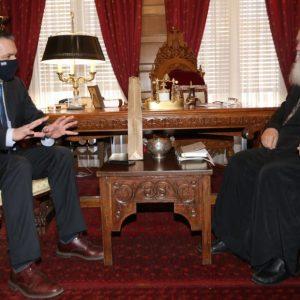 Στον Αρχιεπίσκοπο Ιερώνυμο ο Περιφερειάρχης Δ. Μακεδονίας Γεώργιος Κασαπίδης (Φωτογραφίες)