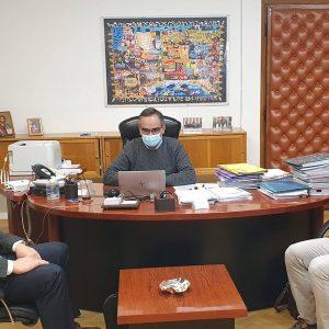Κασαπίδης & Τοπαλίδης στον αναπληρωτή Υπουργό Υγείας κ. Βασίλη Κοντοζαμάνη