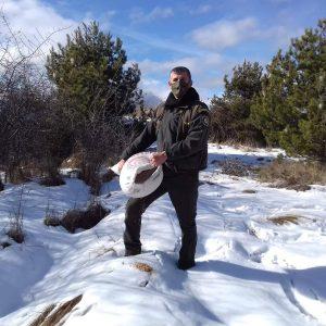 Στη ρίψη τροφής για τα είδη της άγριας ζωής προχώρησε ο Κυνηγετικός Σύλλογος Εορδαίας (Φωτογραφίες)