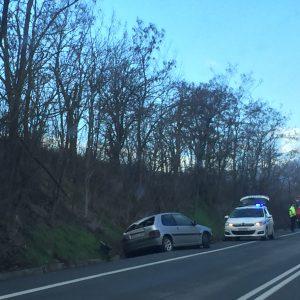 Τροχαίο ατύχημα  πριν από τη διασταύρωση Νεράιδας (διασταύρωση Ροδίτη) (Φωτογραφίες)