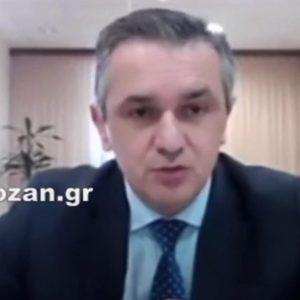 """kozan.gr: Σημερινή δήλωση Γ. Κασαπίδη για την εξέλιξη της πανδημίας: """"146 τα ενεργά κρούσματα στην Π.Ε. Κοζάνης – Αισθητή αύξηση και στην Π.Ε. Καστοριάς. Mας ανησυχούν οι δείκτες"""" (Βίντεο)"""
