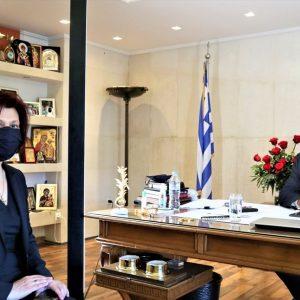 Παρασκευή Βρυζίδου: Πρόσθετα μέτρα στήριξης στις επιχειρήσεις για την ΠΕ Κοζάνης από τον Υπουργό Ανάπτυξης Α. Γεωργιάδη