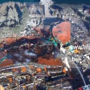 Kαστοριά: Εικόνες από drone καταγράφουν το μέγεθος της καταστροφής στο ΤΣΑΜΗΣ (Βίντεο)