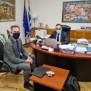 Συνεργασία του Βουλευτή Π.Ε Κοζάνης Σ.Κωνσταντινίδη με τον Αναπληρωτή Υπουργό Υγείας Β. Κοντοζαμάνη: «Νέες θέσεις μονίμων ιατρών για την Π.Ε. Κοζάνης»