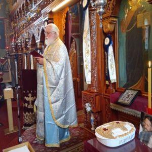 Το 40ήμερο μνημόσυνο του π. Αυγουστίνου στη Λευκόβρυση (της Βαλεντίνης Μιχαηλίδου)