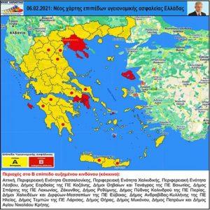 """Οι Περιφερειακές Ενότητες που είναι κοντά στο """"κόκκινο"""" – Ρεπορτάζ του iatronet.gr"""