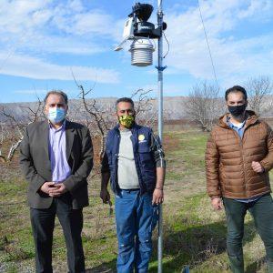 """Δύο πλήρεις Αγροτομετεωρολογικούς σταθμούς εγκατέστησε ο Α.Σ """"Βοκερίας 551"""" στο Μανιάκι και στο Φαράγγι (Φωτογραφίες & Βίντεο)"""