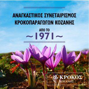 kozan.gr: Μισός αιώνας Aναγκαστικός Συνεταιρισμός Κροκοπαραγωγών Κοζάνης – 1971 – 2021