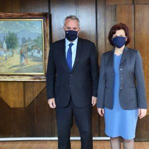 Τον Υπουργό Εσωτερικών  Μάκη Βορίδη συνάντησε η Βουλευτής Π.Ε. Κοζάνης Παρασκευή Βρυζίδου